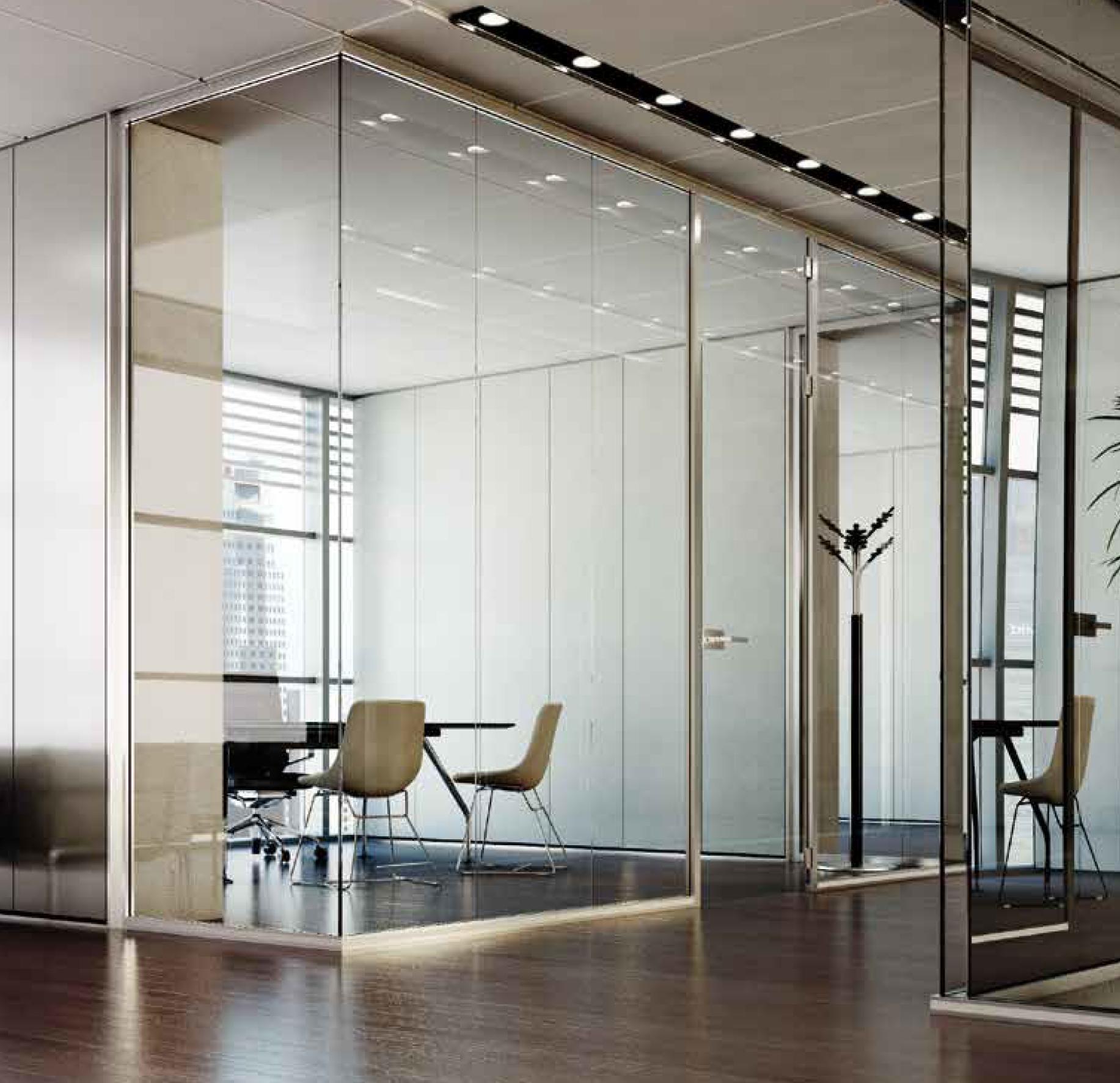 Pareti ventilate facciate continue pareti vetro - Parete divisoria mobile ...