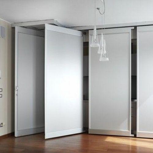 Pareti mobili pareti divisorie scorrevoli manovrabili - Parete mobile in cartongesso ...
