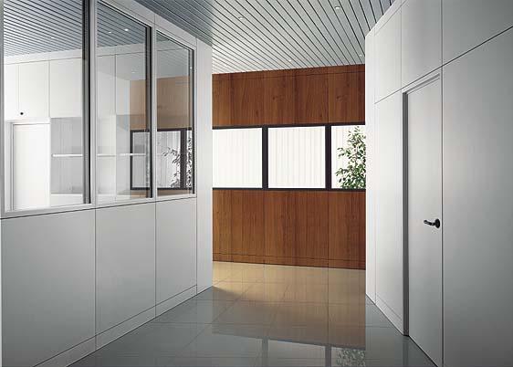 Pareti ventilate facciate continue pareti vetro for Pareti divisorie ufficio low cost